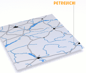 3d view of Petrevichi