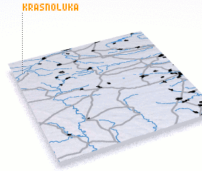 3d view of Krasnoluka