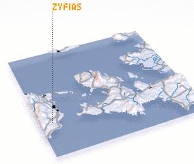 3d view of Zyfiás