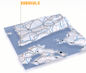3d view of Babakale
