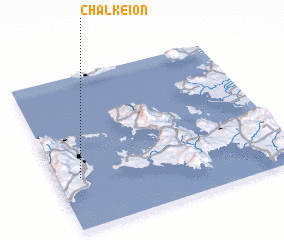 3d view of Chalkeión