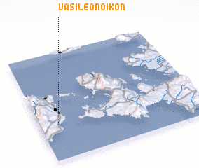 3d view of Vasileónoikon