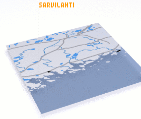 3d view of Sarvilahti