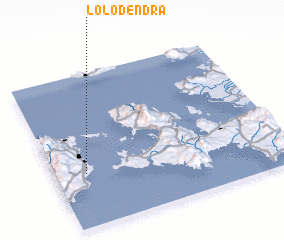 3d view of Lolódendra