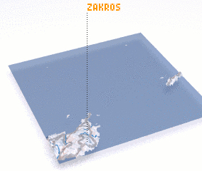 3d view of Zákros