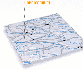 3d view of Vorniceni Mici