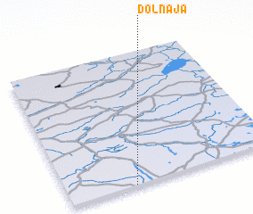 3d view of Dolnāja