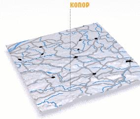 3d view of Konop