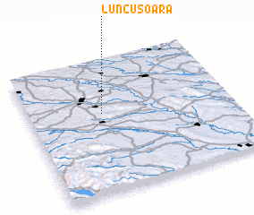 3d view of Luncuşoara