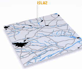 3d view of Islaz