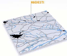 3d view of Hagieşti