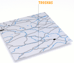 3d view of Troškas