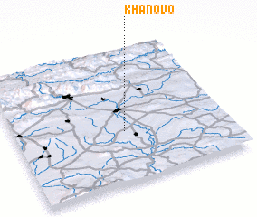 3d view of Khanovo