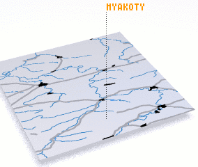 3d view of Myakoty