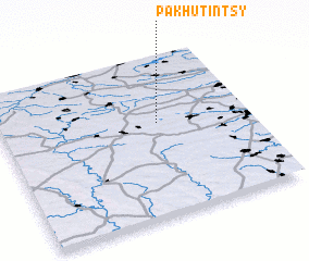 3d view of Pakhutintsy