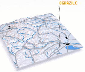 3d view of Ogrăzile