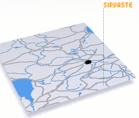 3d view of Sirvaste