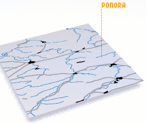 3d view of Ponora