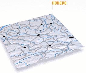 3d view of Konevo