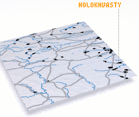3d view of Holokhvasty