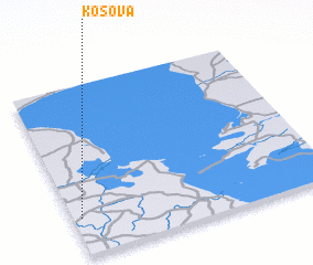 3d view of Kosova