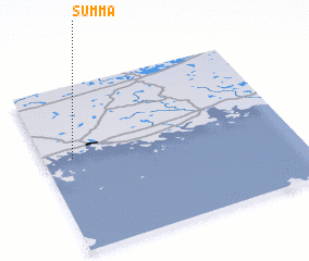 Summa (Finland) map - nona net
