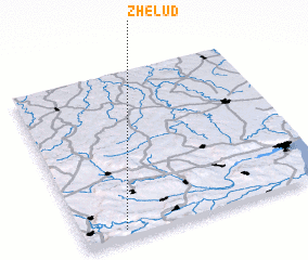 3d view of Zhelŭd
