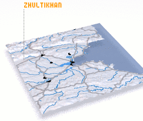 3d view of Zhŭlti Khan