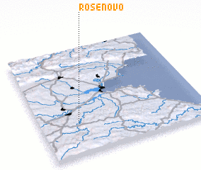 3d view of Rosenovo