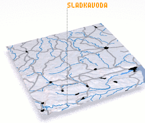 3d view of Sladka Voda