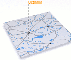 3d view of Lūznava