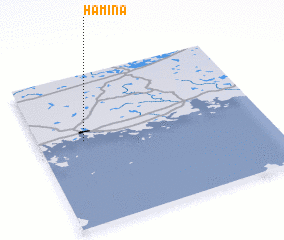 Hamina Finland map nonanet