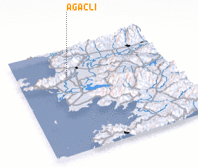 3d view of Ağaçlı