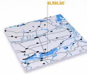 3d view of Almălău