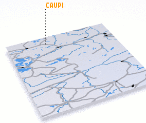 3d view of Čaupi