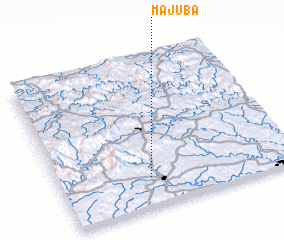 3d view of Majuba