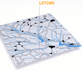 3d view of Leţcani