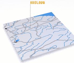 3d view of Kiislova