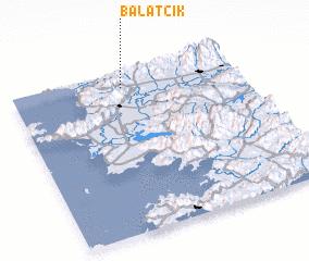 3d view of Balatcık