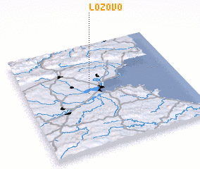 3d view of Lozovo