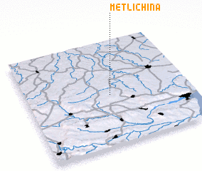 3d view of Metlichina