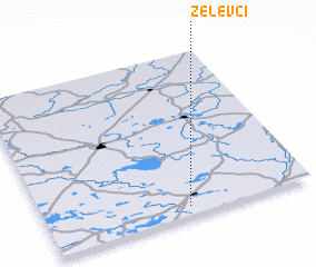 3d view of Zelevci
