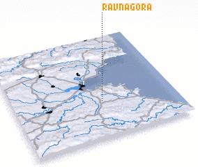 3d view of Ravna Gora