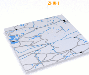 3d view of Zhuki