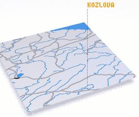 3d view of Kozlova
