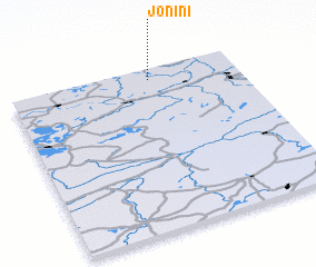 3d view of Jonini