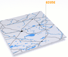 3d view of Asūne