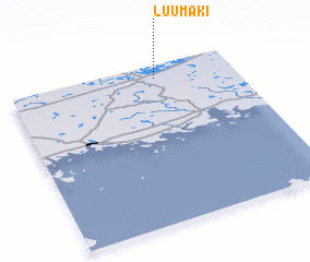 3d view of Luumäki