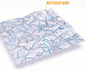 Moyeni Camp Lesotho map nonanet