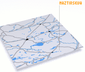 3d view of Maztirševa